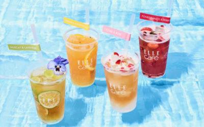 旬のフルーツを使った「コンブチャ」を楽しめるフェア、「ELLE café」で開催 モナコとのコラボも