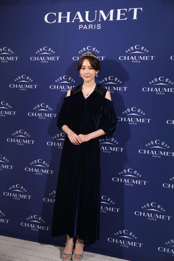 リニューアルオープンしたショーメ 銀座本店の特別ゲストに女優・桐谷美玲さん 展覧会の音声ガイト役も