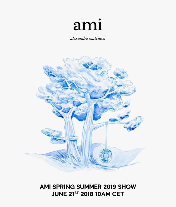 ami alexandre mattiussi(アミ アレクサンドル マテュッシ)2019年春夏コレクション・ランウェイショー ライブストリーミング