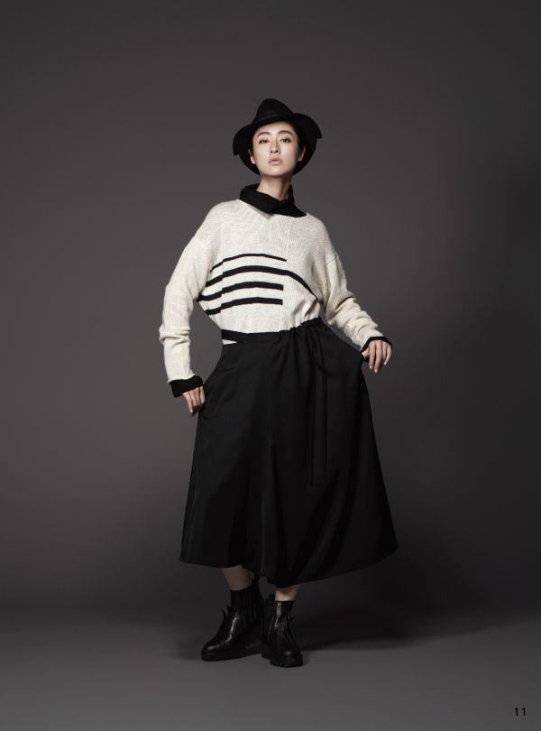「YOHJI YAMAMOTO +NOIR(ヨウジヤマモト プリュスノアール)」、2018-19年秋冬コレクションでシシド・カフカを起用