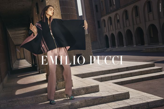 「EMILIO PUCCI(エミリオ・プッチ)」、2018-19年秋冬コレクションの広告キャンペーンを発表