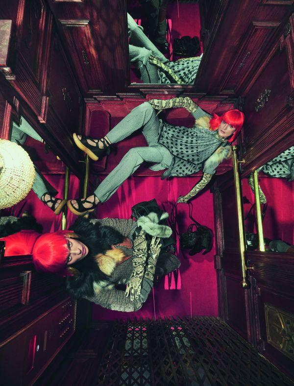 「LOEWE(ロエベ)」の2018-19年秋冬向け広告キャンペーン 古典小説に絡めて「ゲート」シリーズをアピール