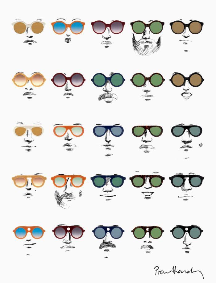 「PIERRE HARDY(ピエール アルディ)」、エルヴェ・ドマール氏とコラボしたサングラスを発表