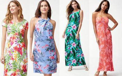 夏のワンピースは1枚でサマになる「プリント柄」で Tommy Bahamaのサマードレス