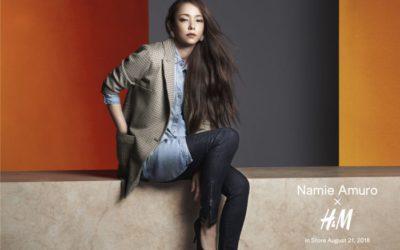 「安室奈美恵さん x H&M」コラボ、「Namie Amuro x H&M」第2弾、全キャンペーンビジュアルを公開