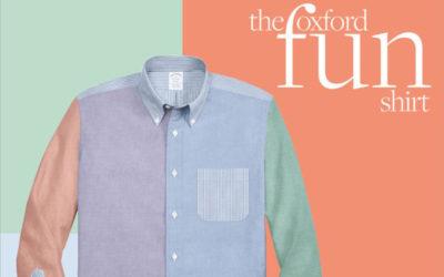 「Brooks Brothers(ブルックス ブラザーズ)」、オンラインショップで「クレイジーパターンシャツ」のカスタマイズ提供