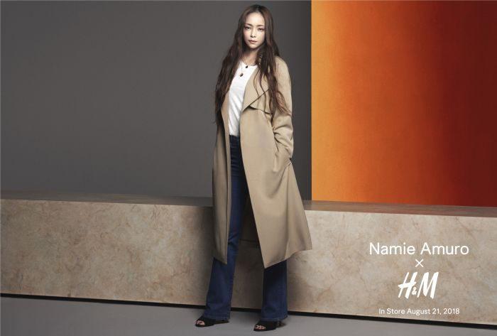 「安室奈美恵さん x H&M」コラボ、「NamieAmuro×H&M」第2弾、全キャンペーンビジュアルを公開