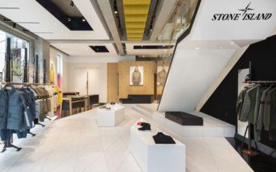 「STONE ISLAND(ストーンアイランド)」、日本初のフラッグシップストアをオープン