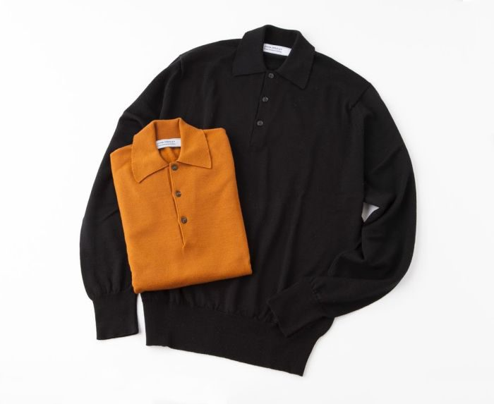 「JOHN SMEDLEY(ジョン スメドレー)」、銀座店の25周年を記念したニットポロシャツ発売