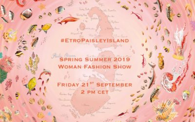 ETRO(エトロ)2019年春夏ウィメンズコレクション・ランウェイショー ライブストリーミング