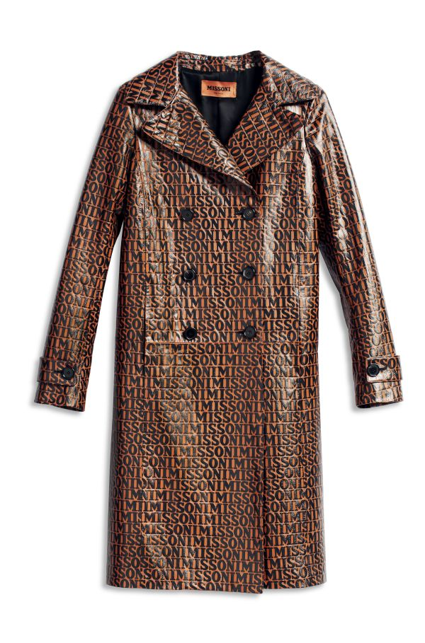 3MISSONI ALL-OVER_The Leather Trench