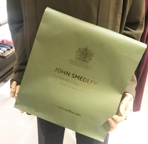 JOHN SMEDLEY(ジョンスメドレー)銀座店の25周年記念パーティ