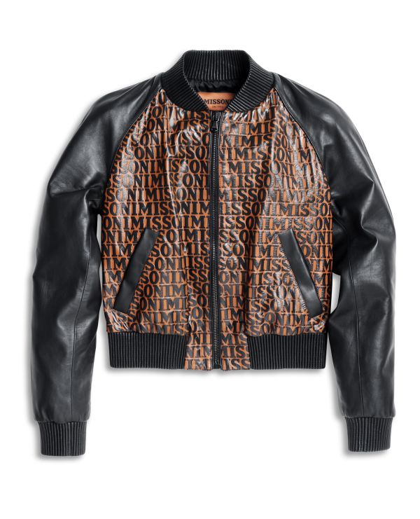 4MISSONI ALL-OVER_The Bomber Jacket