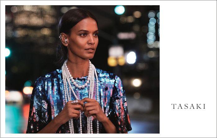 TASAKI、広告キャンペーンにスーパーモデル、リヤ・ケベデを起用