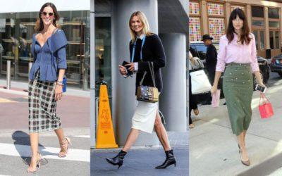 タイトスカートの着こなし正解例!海外セレブの「すっきり美バランス」コーデ5選