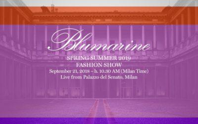 Blumarine(ブルマリン)2019年春夏コレクション・ランウェイショー ライブストリーミング