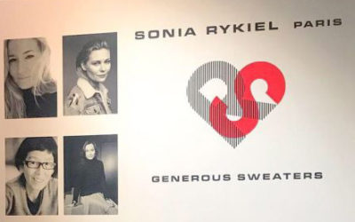 「SONIA RYKIEL GENEROUS SWEATERS」レセプション