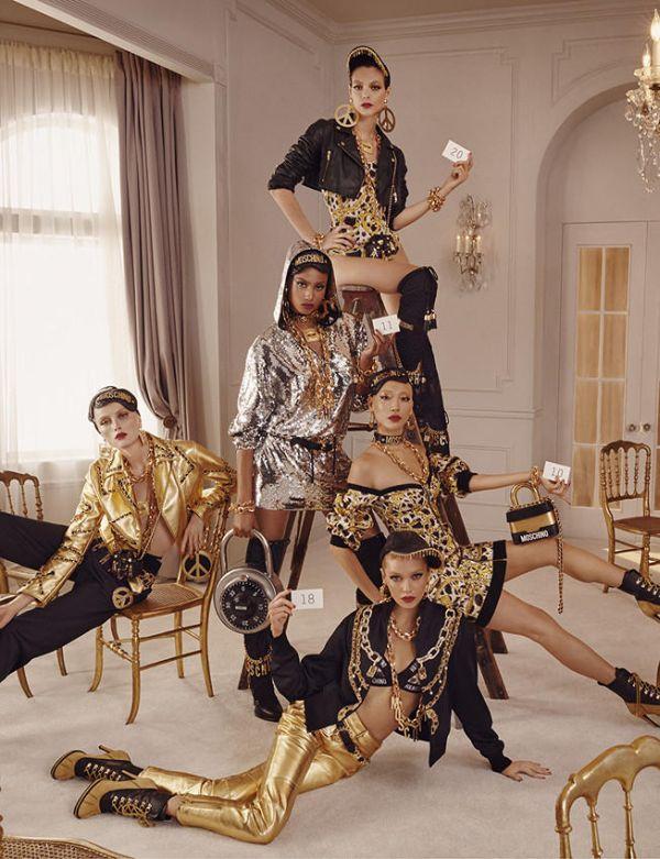 「H&M×モスキーノ」、MOSCHINO [tv] H&Mの全ルック公開 ポジティブでポップなムード_PR