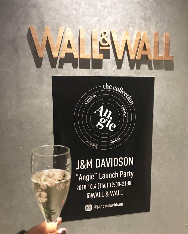 「J&M DAVIDSON」、カプセルコレクション「ANGIE(アンジー)」ローンチイベント