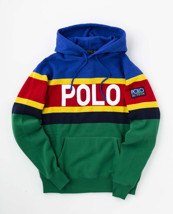 「ポロ ラルフ ローレン」、カラフルでポップなセーターやパーカ発売