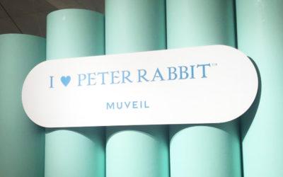I ♥ PETER RABBIT ™(アイ ラブ ピーターラビット™)×MUVEIL(ミュベール)」ポップアップストア @ GINZA SIX