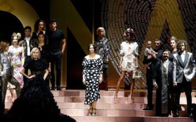 Dolce&Gabbana(ドルチェ&ガッバーナ)2019年春夏ミラノコレクション 三吉彩花さんがランウェイに登場