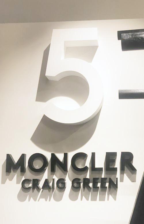 「5 Moncler Craig Green(5 モンクレール クレイグ・グリーン」カクテルパーティー