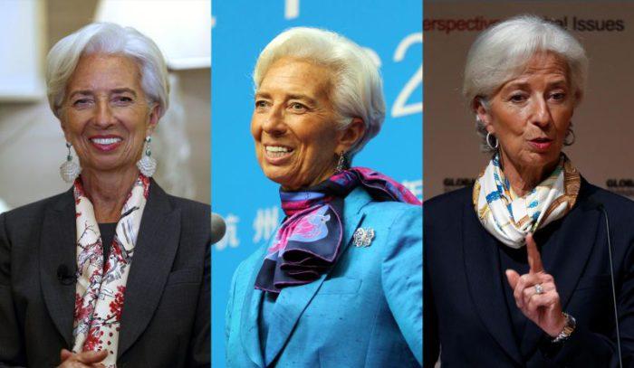 スカーフ使いが上手なフランス人女性がお手本!仕事に役立つ「クリスティーヌ・ラガルド流」スカーフテク