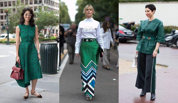 海外のストリートでは「グリーン」が大人気!デイリールックが洗練される「美スタイル」