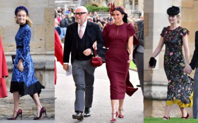 ユージェニー王女の結婚式に出席したセレブが豪華すぎる!招待客の「華やかなワンピース」スタイル