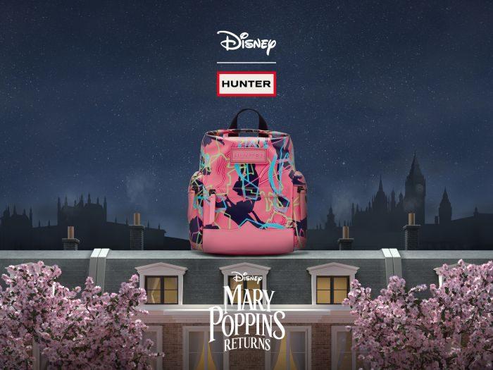 「HUNTER(ハンター)」、ディズニーとコラボレーションし映画『メリー・ポピンズ リターンズ』公開を記念したアイテムを発売