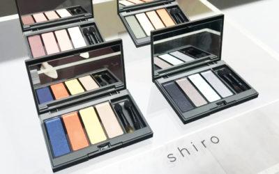 「shiro(シロ)」2019年春夏・新作コスメコレクション
