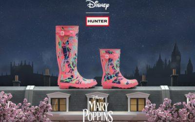 「HUNTER(ハンター)」、ディズニーとコラボレーション 映画『メリー・ポピンズ リターンズ』公開を記念したアイテムを発売