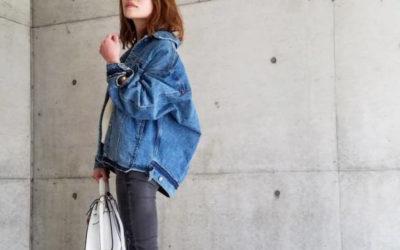 「パジャマシャツ、スキニーデニム、カラージーンズ、マルチWAYのバッグ」着こなし @ EDITOR'S CLIPS