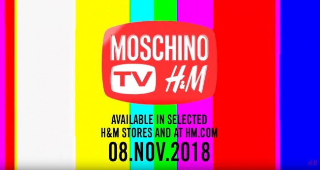 MOSCHINO [tv] H&M キャンペーン・ムービーが公開