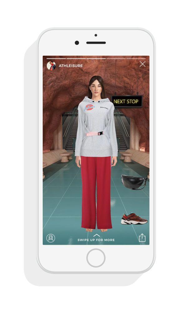 YOOX(ユークス)、バーチャル試着アプリの「YOOXMIRROR」を発表