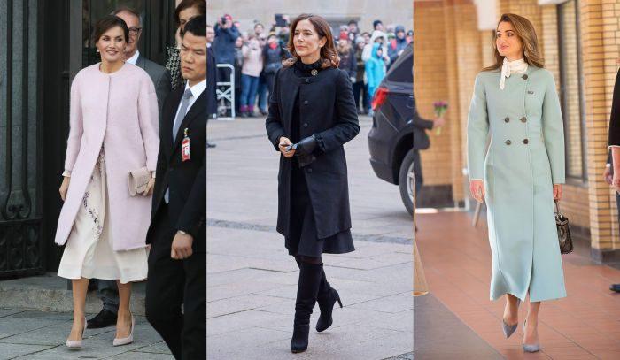 世界の美人王妃は「ノーカラーコート」を愛用!寒い冬をエレガントに彩るコートスタイル