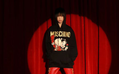 「MOSCHINO(モスキーノ)」、春節記念コレクションを発売 ピッグキャラクターを起用