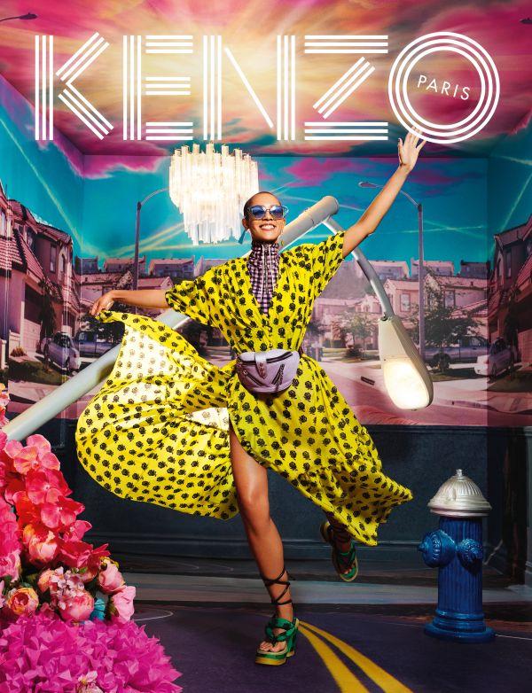 「KENZO(ケンゾー)」、2019年春夏のキャンペーンビジュアルはカラフルでハッピー