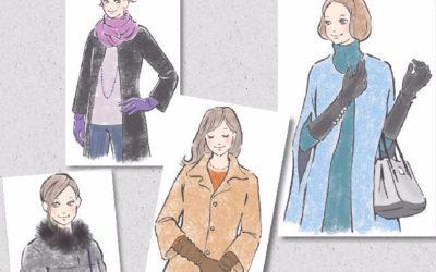 「NIKKEIプラス1倶楽部」に掲載されました 「小物ひとつでイメージチェンジ 季節を楽しむファッション術」(vol.7 冬のおしゃれアクセントに、レディライクなグローブを!)