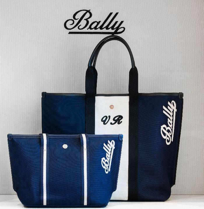 「BALLY(バリー)」、キャンバストートバッグへのイニシャル刻印サービスを銀座店でスタート