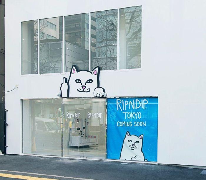LA発のストリートブランド「RIPNDIP(リップンディップ)」、東京・原宿に旗艦店をオープン