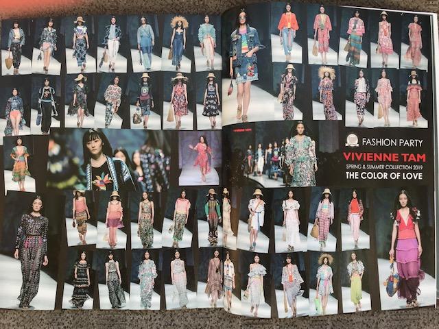 「VIVIENNE TAM(ヴィヴィアン タム) 2019年春夏コレクション」特集執筆(ファッション雑誌『NorieM(ノリエム)』)