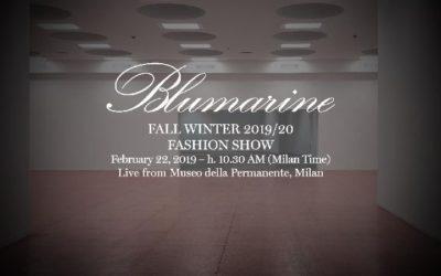 Blumarine(ブルマリン)2019年秋冬ミラノコレクション・ランウェイショー ライブストリーミング