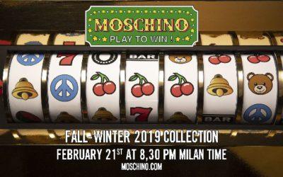 MOSCHINO(モスキーノ)2019年秋冬ミラノコレクション・ランウェイショー ライブストリーミング