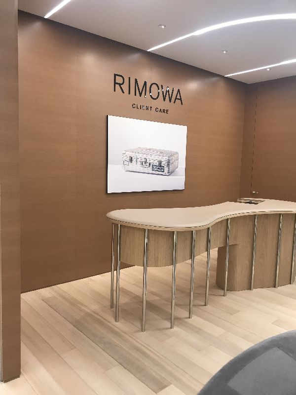 「RIMOWA(リモワ)」銀座フラッグシップストア、お披露目パーティ AMBUSH®とのコラボが登場