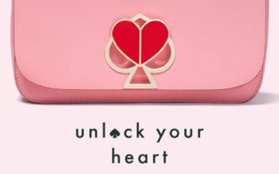 ケイト・スペード ニューヨーク、新アイコンをフィーチャーした「unlock your heart」キャンペーンをスタート