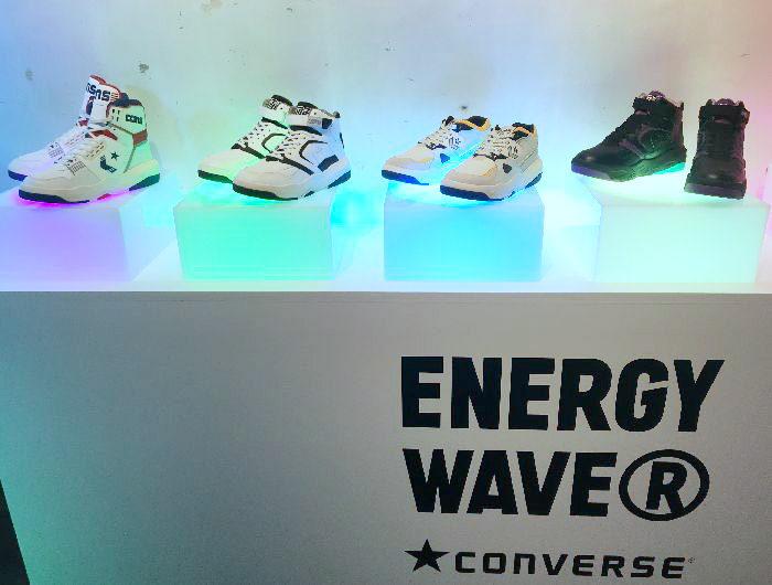 「CONVERSE ENERGY WAVE®」のローンチパーティ