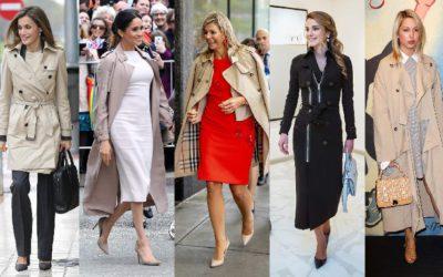 メーガン妃も愛用!世界の美人王妃の「最強に優雅なトレンチコートスタイル」5選