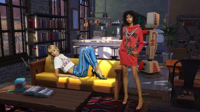 「MOSCHINO(モスキーノ)」、人気ゲーム『The SIMS(ザ・シムズ)』とコラボしたカプセルコレクション発売